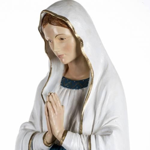 Notre Dame de Lourdes 160 cm résine Fontanini s4