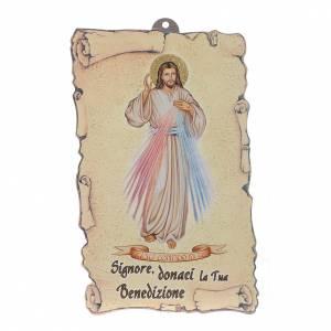Accesorios para bendición: Oración Bendición Jesús Misericordioso (100