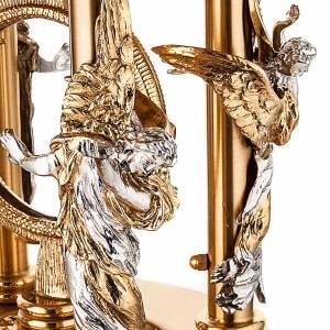 Ostensorio stile classico con angeli s3
