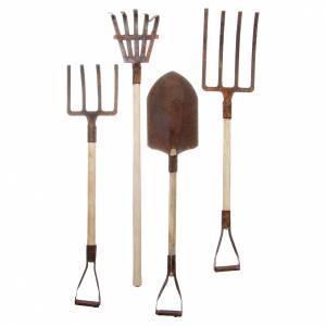 Outils de jardinage métal crèche set 4 pièces s2
