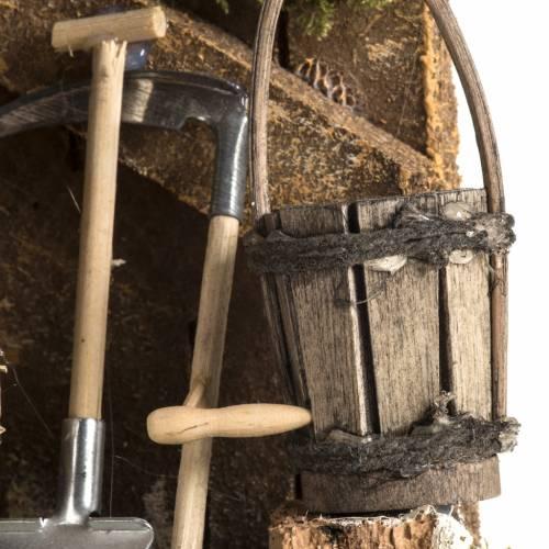Outils de travail du paysan milieu crèche s4