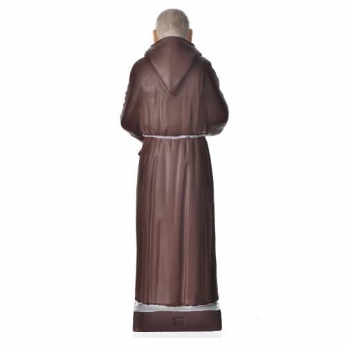 Padre Pío 20cm, material irrompible s2