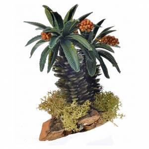 Palmier double pour crèche 13cm s2