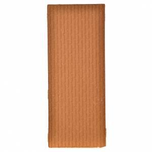 Pannello sughero muro mattoni grandi 100x40x1 s2