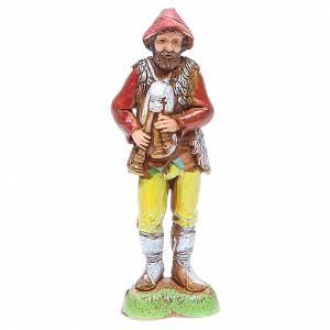 Belén Moranduzzo: Pastor con gaita 10 cm Moranduzzo estilo clásico