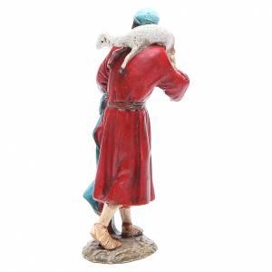 Pastor con oveja en la cabeza 12 cm Linea Masrtino s2