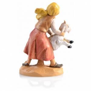 Pastor con oveja Fontanini de 6,5cm s2