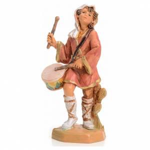 Pastor con tambor 9,5 cm Fontanini s1