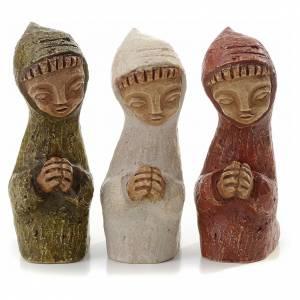 Pesebre Monasterio de Belén: Pastor de rodillas Pesebre pequeño