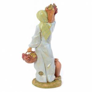 Pastora con uva 30 cm. Fontanini s3