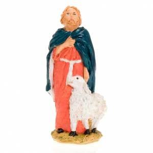 Pastore con pecora in piedi 13 cm s1