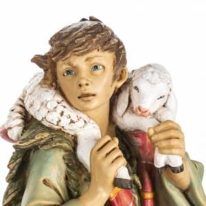Statue per presepi: Pastore con pecore 65 cm Fontanini resina