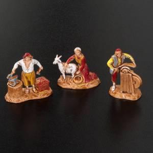 Pastores belén 6 personajes de 3 cm. Moranduzzo s2