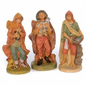 Pastores pesebre 10 figuras goma 40 cm s3