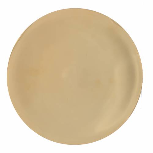 Paten smooth and shiny brass, 25cm s1