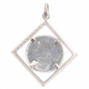 Pendant charm in 800 silver with Raphael's angel 1.7x1.7cm s2