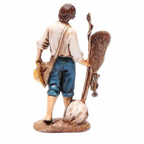 Pescatore 10 cm Moranduzzo stile settecento s2