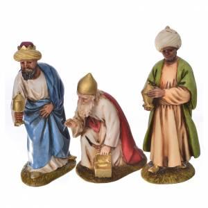Belén resina y tela: Pesebre Landi 11cm completo 12 estatuas
