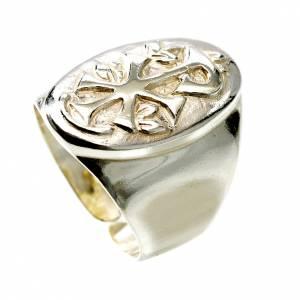 Akcesoria dla biskupa: Pierścień srebro 800 XP regulowany