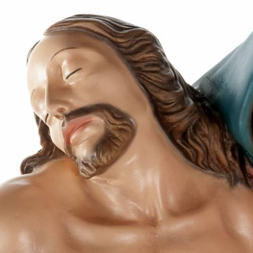 Pietà of Michelangelo, fiberglass statue, 100 cm s15