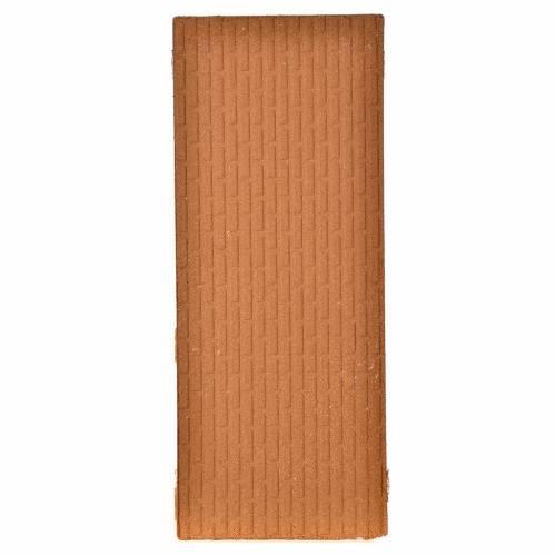 Plancha corcho muro ladrillos grandes 100x40x1 s2
