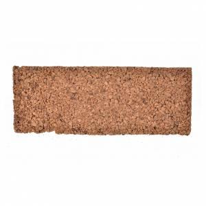 Fondos y pavimentos: Plancha corcho rocoso 33x12x1 cm.