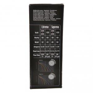 Pompa acqua presepe EXTREMA 500-2500 litri/ora 35w s8