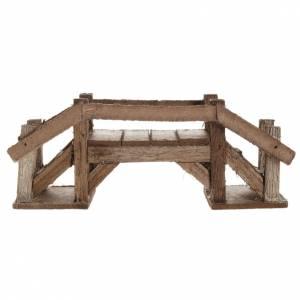 Ponte legno scuro presepe s2