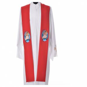 STOCK Pope Francis' Jubilee Big Stole with ENGLISH machine embroided logo s5
