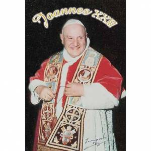 Pope John XXIII holy card s1