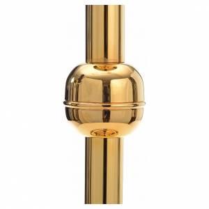 Basi portacero pasquale: Porta cero pasquale ottone dorato