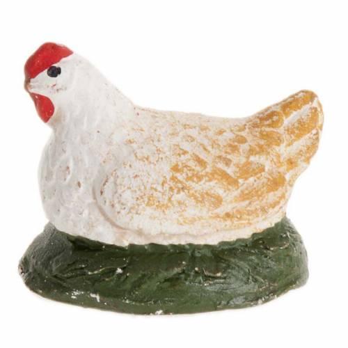 Poule qui couve crèche Napolitaine 12 cm s2