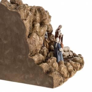 Presepe Landi completo con grotta 11 cm s9