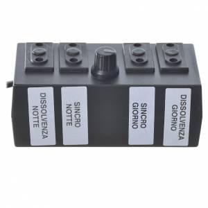 Programmateur pour éclairage crèche 600W 2+2 phases s1
