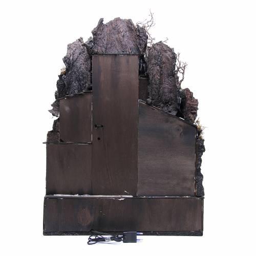Pueblo en la roca Belén Napolitano 70x50x50 cm s4