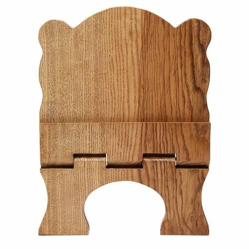 Pupitre table frêne clair simple Moines Bethéelem s5