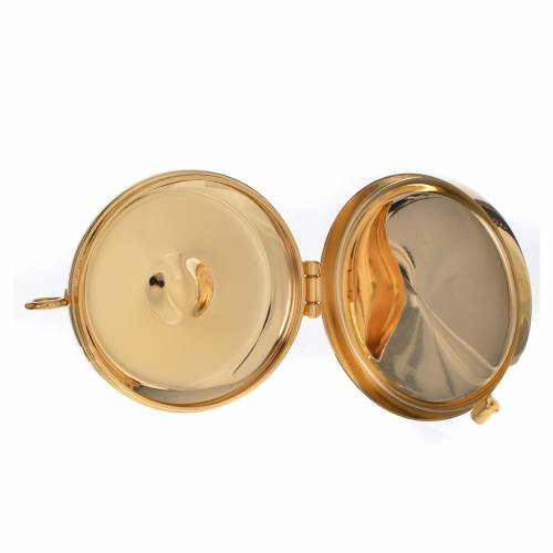 Pyx, golden with chalice 53mm s3