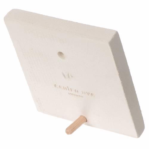 Quadretto Prima comunione argilla Centro Ave 10 cm s2