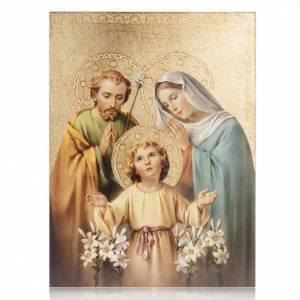 Quadro legno stampa Sacra Famiglia Bellazzi s1