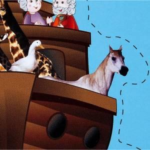 Qui se trouve dans l'arche de Noé? ITA s2