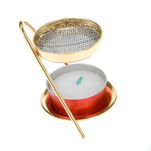 Räucherschalen: Räucherschale Z-Form mit Kerzenhalter