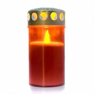 Red silicone LED candle, 8 months s3