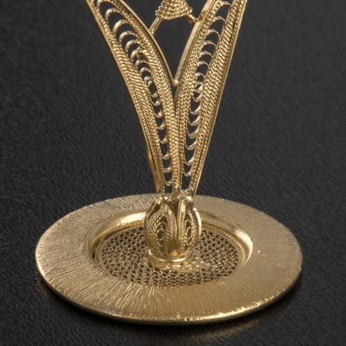 Relicario tipo flor plata 800 filigrana s4