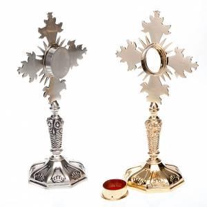 Ostensoirs, Reliquaires  en métal: Reliquaire avec croix