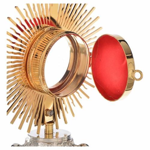 Reliquary, Sun model in silver brass H18cm s3