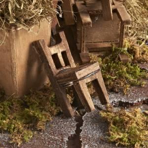 Réparateur de chaises animé crèche 12 cm s4