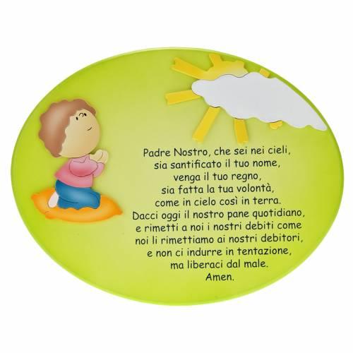 Retablo Padre Nuestro niño rezando s1
