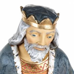 Rey Mago blanco 85 cm. resina Fontanini s2