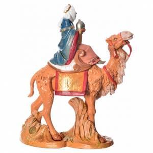 Rey Mago moro con camello, 19cm Fontanini s3