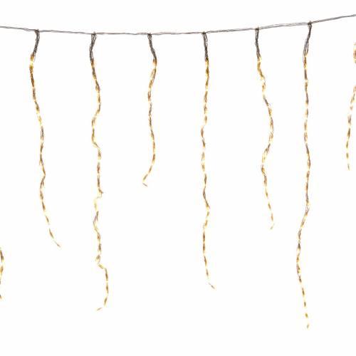 Rideau lumineux no l 864 leds blanc chaud pour ext rieur for Rideau noel exterieur